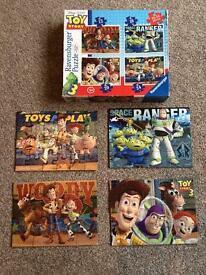 Toy Story 3 Disney Puzzles - box of 4