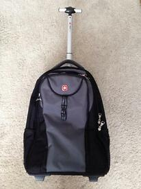 Swiss gear trolley laptop case backpack