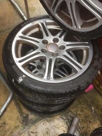 Ep3 type R alloys, fits most civics 114x5