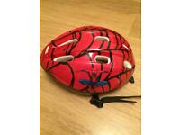 Spider man cycle helmet age approx 7-11yrs