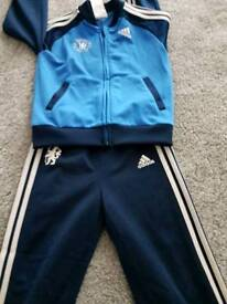 Chelsea Adidas Tracksuit 18-24months