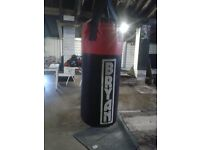 Various punch bags