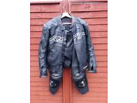 RST PRO SERIES LEATHER JACKET AND TROUSERS