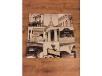 Paris canvas collage