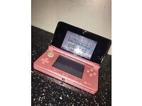 Pink Nintendo 3ds immaculate