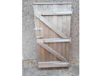 Tongue&Groove wooden gate, garden gate,treated wood 1785 MM HIGH BY 890 MM WIDE.