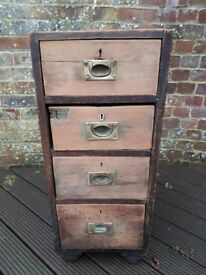 Antique drawers
