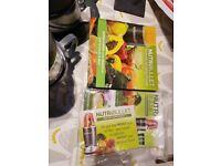 Brand New! NutriBullet Blender with recipe book