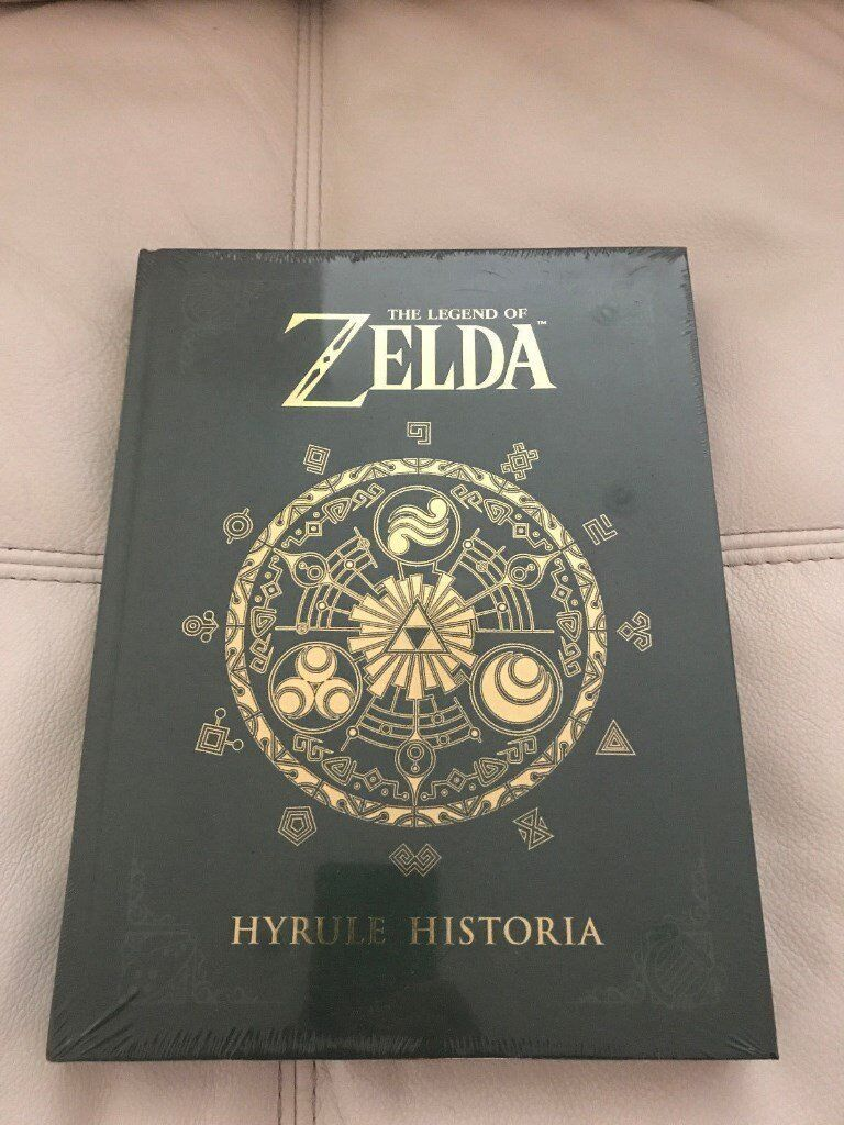 Legend of Zelda: Hyrule Historia by Shigeru Miyamoto New Hardback Book brand new sealed