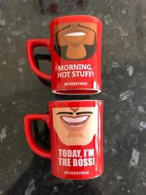 Nescafe coffee cup / mug x 2