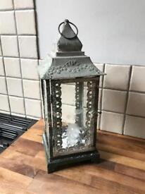 Beautiful Ornate Metal Lantern