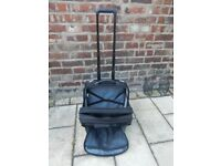 FREE DELIVERY TARGUS Executive Laptop Roller Bag Case Overnight Wheels Pull Along Briefcase Trolley