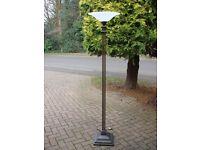 METAL STANDARD LAMP.MARKS AND SPENCER
