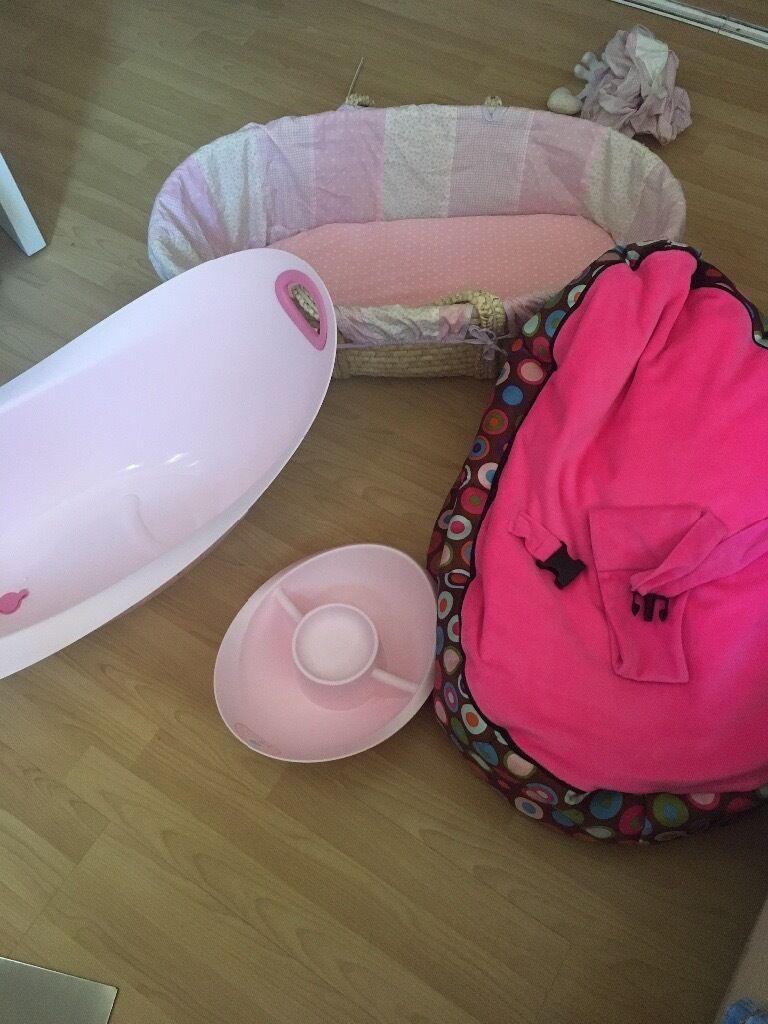 Fantastic Mothercare Baby Bath Bean Bag Moses Basket In Creativecarmelina Interior Chair Design Creativecarmelinacom