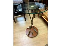 golf style lamp table