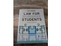 Law for business students book
