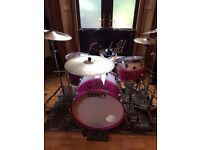 Complete TAMA hardware package for sale. With Throne and FREE extra snare stand.