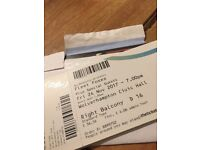 Fleet Foxes 2 x Tickets Wolverhampton Seated