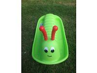 toddlers catarpillar seesaw