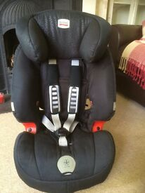 Britax Evolva 123 plus car seat. 9 to 18 kg