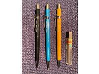 Pentel clutch pencils