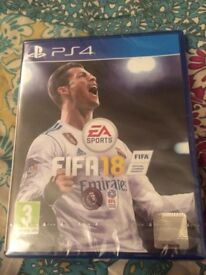 FIFA18 for PS4 Brand New £30