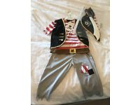 Pirate fancy dress - age 3-5