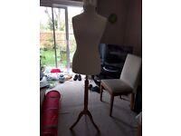 Dressmakers dummy-Size 12-Adjustable Height
