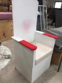 Throne chair for Santa