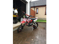 Thumpstar 120cc Pit Bike Anodized Red Mint Condition