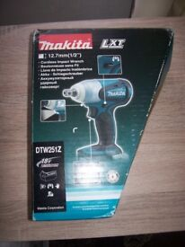 NEW MAKITA IMPACT WRENCH DTW251