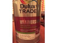 Dulux weathershield cornflower white