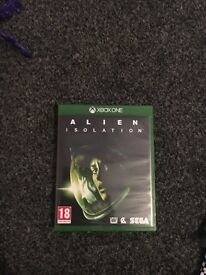 Alien isolation Xbox one game- never used