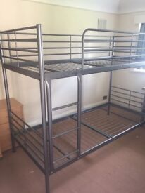 Almost new bunk bed frame for sale