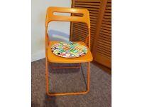 Folding Chair and Cushion --- £5