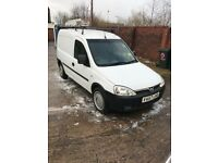 Vauxhall combo crew van service history new engine fitted at Vauxhall at 70k with receipt 57 reg