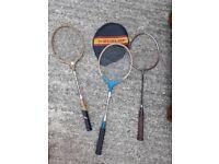 Badminton Rackets - gut