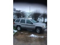 2002 Jeep Grand Cherokee 3.2 diesel 4x4 (may swap for van or 7 seater) Nissan Renault ford