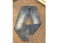 G-Star Jeans - Raw 01 Men's W36 L32 Blue - Hardly Worn