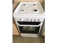 White indesit gas cooker