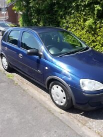 2006 vauxhall corsa life twinport 1.2 for sale