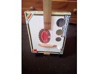 Cigar box guitar (electo-acoustic)