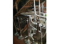 Aluminium high chairs