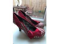 Ruby shoo red shoes for sale