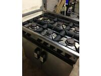 Moorwood vulcan 6 burner gas cooker oven