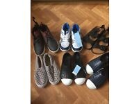 New boys shoes bundle size 1 & 2