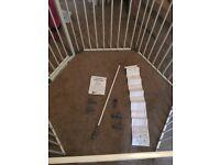 Playpen/large stair gate