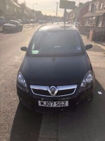 Vaxhall Zafira Excellent condition at cheap price