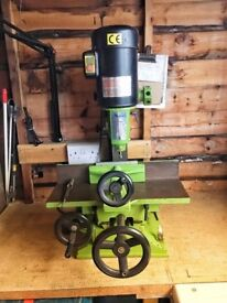 Small Bench Milling Machine Wanted, would like to Part/ Ex a Salida SL-1900 Chisel Mortise M/C