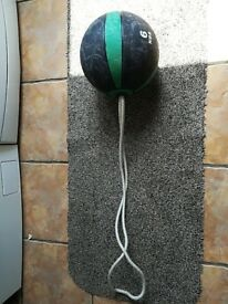 6kg Tornado Medicine Ball kettlebell (weights, cast, iron, dumbbells, vipr)